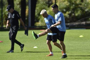Suárez vence nova lesão e lidera Uruguai em estreia contra o Equador no Mineirão |