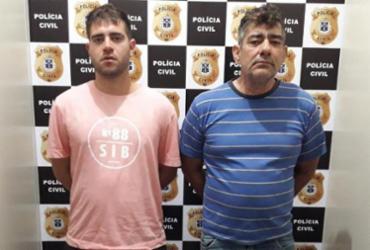 Pai e filho são presos suspeitos de tráfico em Vitória da Conquista | Divulgação | Polícia Civil