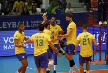 Brasil leva virada da Sérvia no vôlei e sofre sua 1ª derrota na Liga das Nações | Divulgação l FIVB