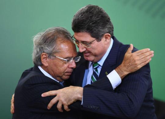 Gestão de Levy no BNDES foi marcada por atritos com governo e com funcionários | Evaristo Sa l Agência Brasil