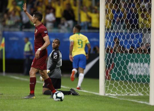Brasil tem dois gols anulados pelo VAR e só empata com a Venezuela | Uendel Galter l Ag. A TARDE