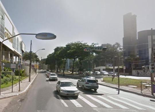 Tráfego em Ondina passa por alterações a partir desta quarta   Reprodução   Google Street View