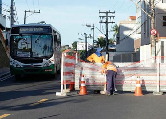 Eventos alteram tráfego de veículos em Salvador | Uendel Galter | Ag. A TARDE