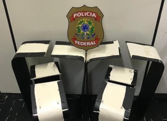 Casal é preso tentando transportar 9,6 kg de cocaína no aeroporto de Salvador | Divulgação | Polícia Federal