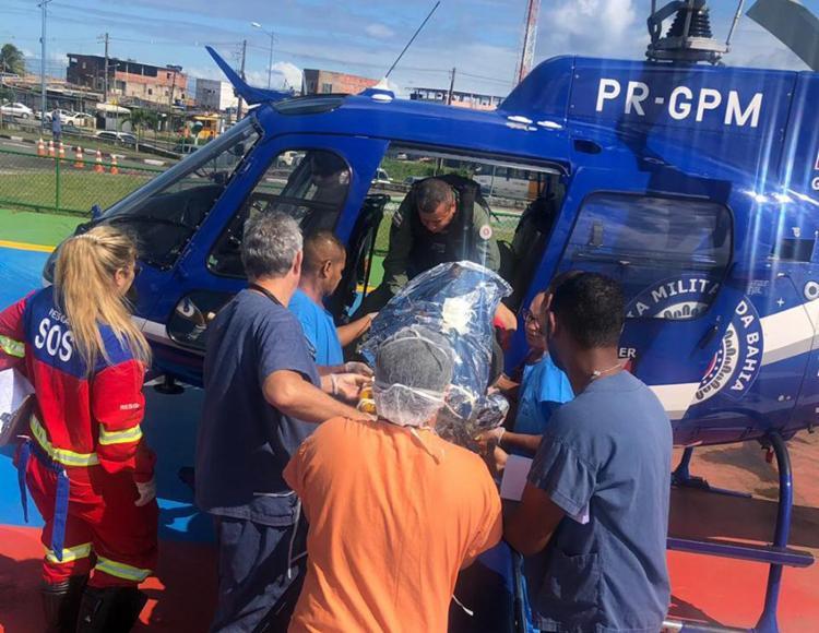 Idosos foram encaminhados ao Hospital do Subúrbio - Foto: Divulgação   SSP-BA
