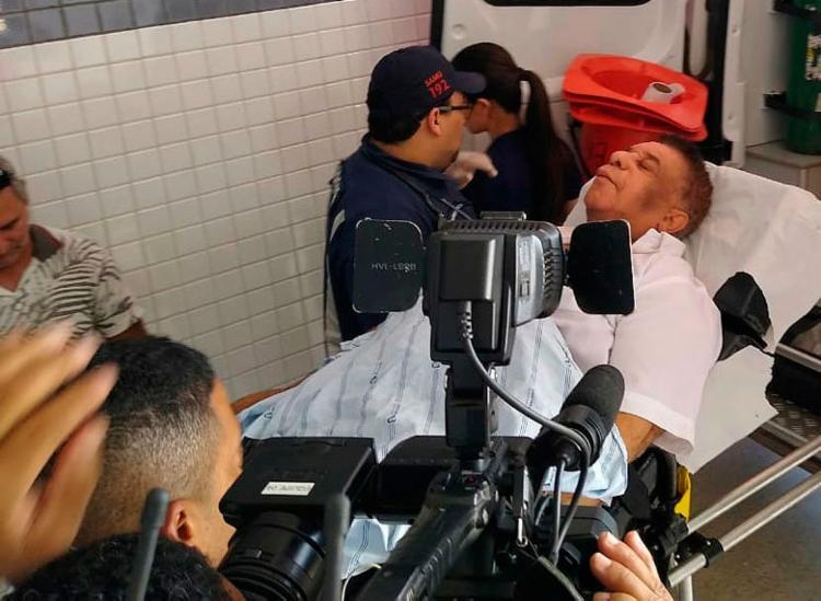 Cantor foi internado no dia 20 de maio após um quadro de AVC - Foto: Jadiel Luiz | Noticias da Bahia