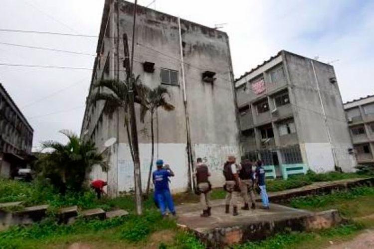 Segundo a Embasa, o prédio está com um débito de mais de R$ 153 mil - Foto: Divulgação   Embasa