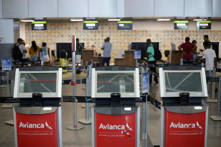 A Avianca está em processo de recuperação judicial desde dezembro do ano passado - Foto: Raphael Müller | Ag. A TARDE