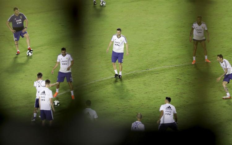 Os 'hermanos' têm feito mistério nos treinos e ainda não deram entrevistas - Foto: Adilton Venegeroles l Ag. A TARDE