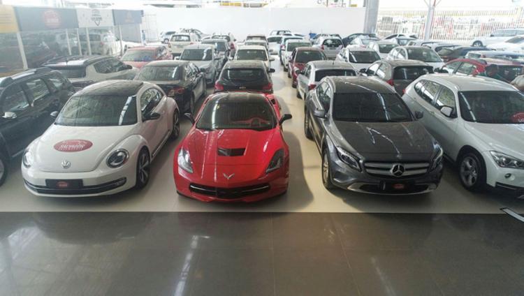 Auto Shopping Rodrigues: veículos multimarcas que variam entre R$ 17 mil e R$ 250 mil - Foto: Divulgação