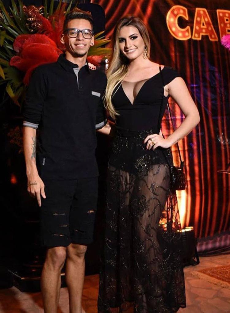 Devinho Novaes e Aylle Santiago ficaram juntos por nove meses - Foto: Reprodução   Instagram