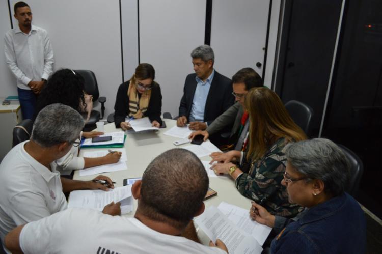 Em até 72h após o encerramento da greve, será implementada uma nova mesa para negociação - Foto: Suâmi Dias | Sec