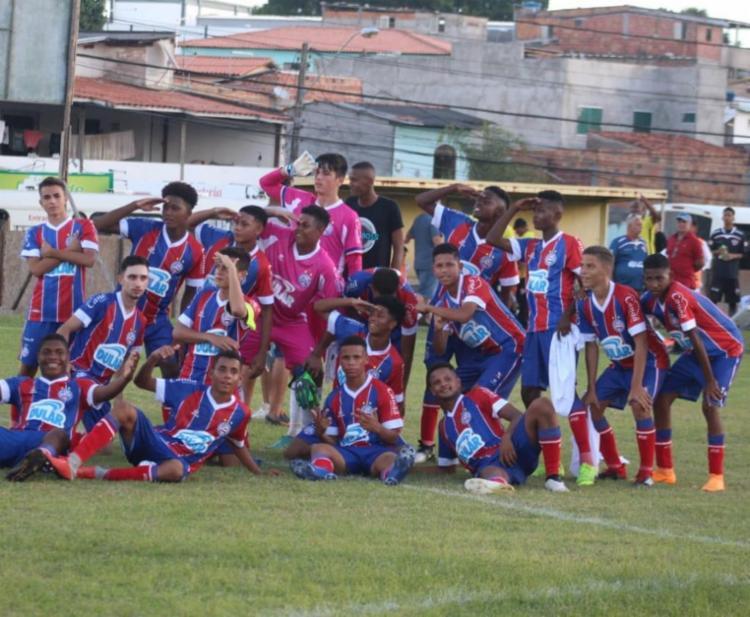 A equipe do Bahia fechou a competição com 100% de aproveitamento - Foto: André Costa Gobilla | EC Bahia