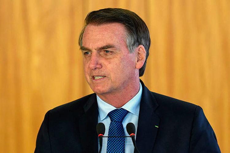Presidente também afirmou que a questão ficaria na Funai se houvesse consenso entre os líderes - Foto: Evaristo Sa | AFP