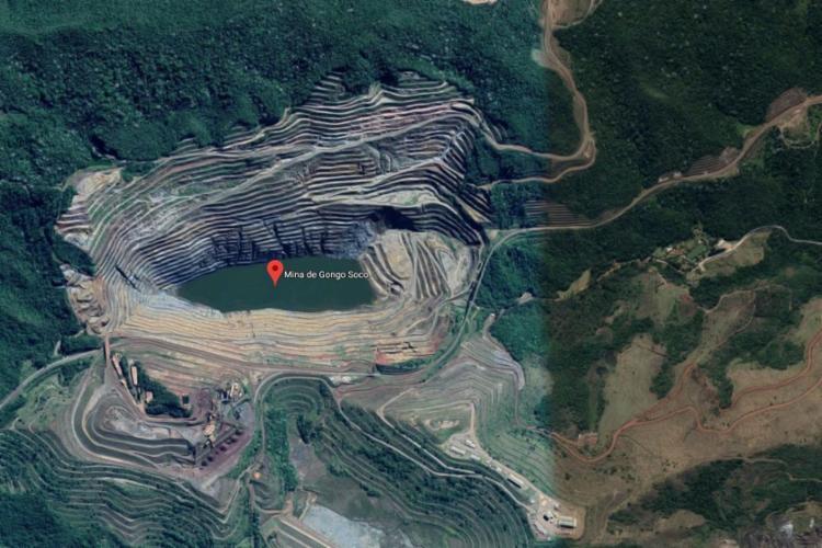 Até o momento não foi possível catalogar os deslocamentos em pontos isolados - Foto: Reprodução | Google Maps