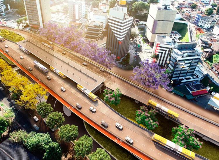 Obras iniciadas fazem parte da Cidadela do BRT - Foto: Divulgação | Secom