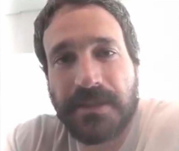 Ator explicou a situação por meio de vídeo no seu Twitter - Foto: Reprodução   Twitter