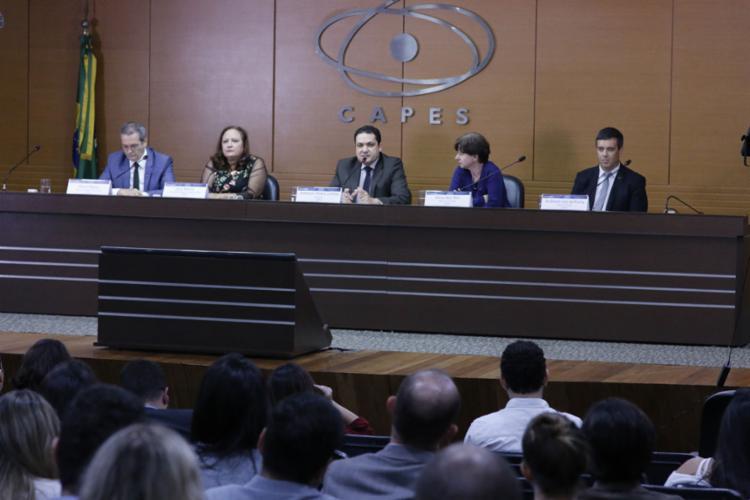 Anderson Correa, presidente do Capes, anunciou mudanças na concessão de bolsa - Foto: Haydée Vieira (CCS-Capes) l Divulgação