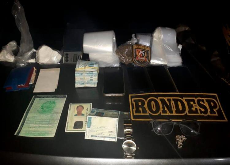 Homem ofereceu R$ 19 mil aos policiais para não ser preso - Foto: Divulgação | SSP-BA