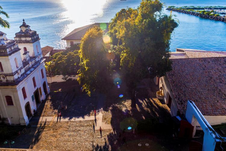 Cine MAM ficará localizado em frente à capela do museu - Foto: B. Cirilo   Divulgação