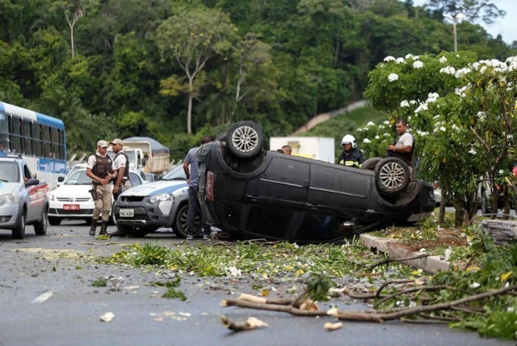 Limite de pontuação da CNH, que passaria de 20 para 40 - Foto: Raul Spinassé   Ag. A TARDE   10.05.2018