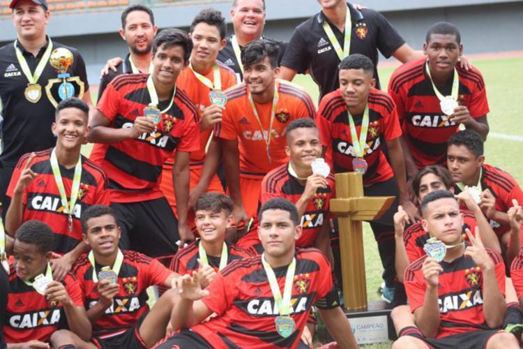 Atual campeão da Copa, o Sport estreia em clássico contra o Palmeiras, pelo grupo G - Foto: Divulgação