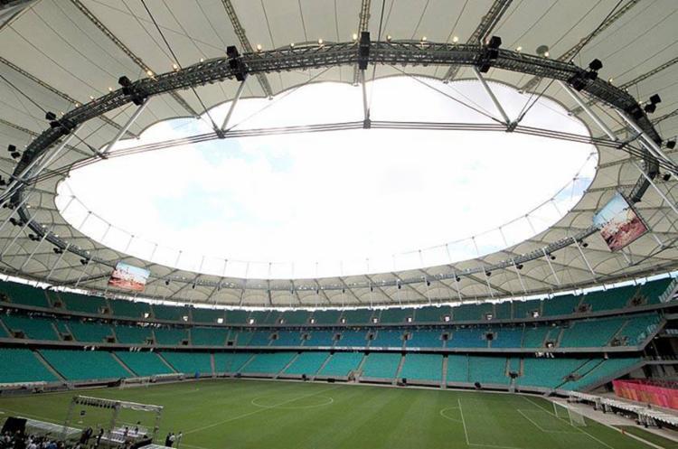 Intenção da Conmebol é preservar o gramado para a partida deste sábado - Foto: Divulgação