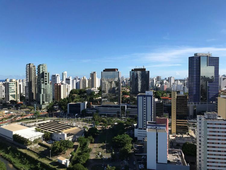 No primeiro quadrimestre de 2019 foram aplicados R$ 21,4 bi na aquisição e construção de imóveis - Foto: Xando Pereira | Ag. A TARDE