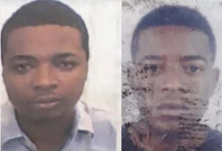 Wanderson dos Santos (à esq.), de 31 anos, e Paulo César Barbosa, 21, foram mortos no sábado, 15 - Foto: Reprodução | Acorda Cidade