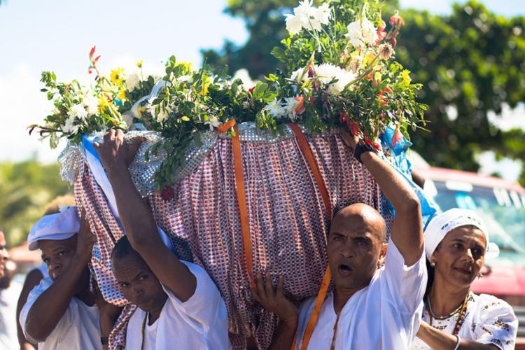 O Bembé do mercado acontece há mais de 130 anos e celebra a abolição da escravatura no Brasil - Foto: Divulgação