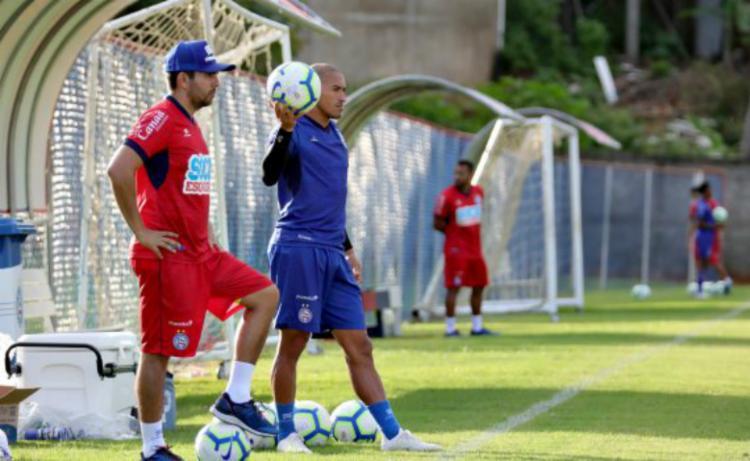 Jussãn vai observar os adversários do Brasil durante a Copa América - Foto: Divulgação | EC Bahia