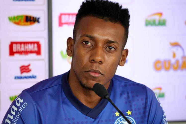 O lateral apontou a chegada do técnico Roger como principal fator para a evolução do time - Foto: Felipe Oliveira | EC Bahia