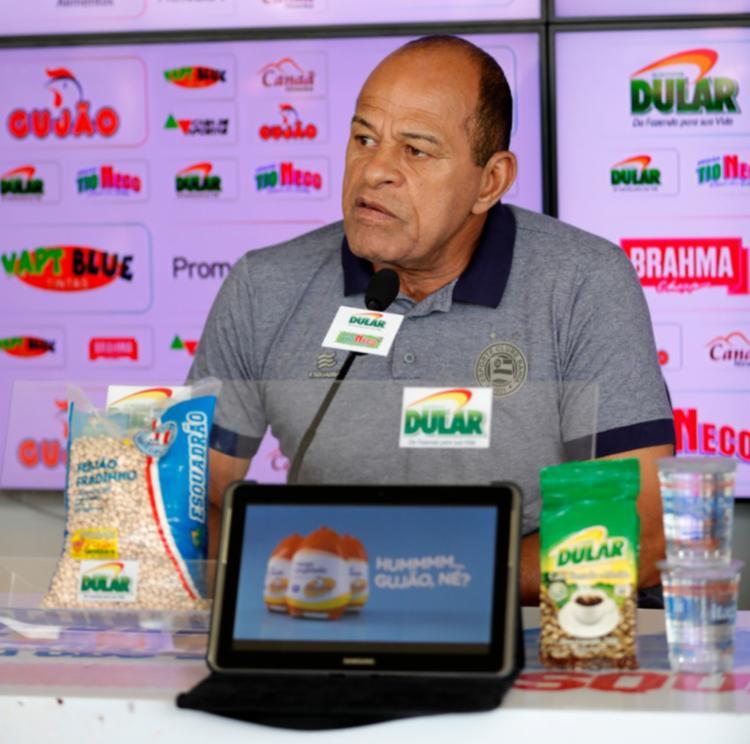 Preparador também explicou a situação dos atacantes Gilberto e Élber - Foto: Divulgação | EC Bahia