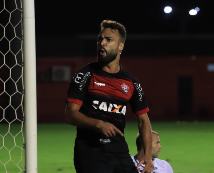 Maurício marcou apenas um gol com a camisa do Vitória - Foto: Mauricia da Matta | EC Vitória