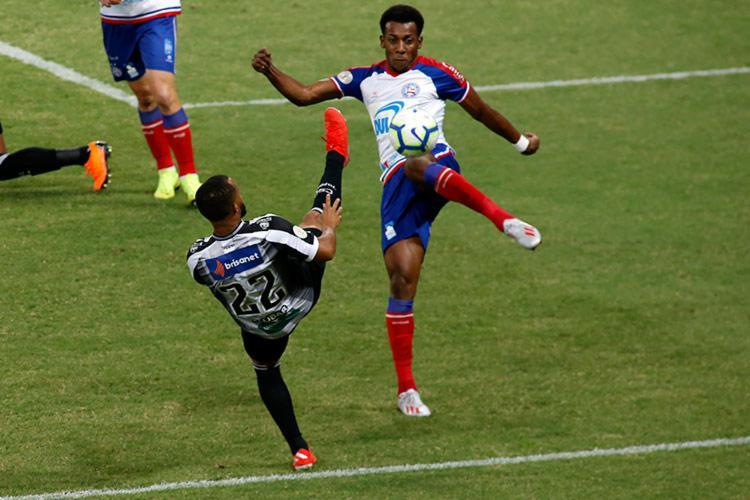 Com o empate, Tricolor chegou ao sexto jogo seguido sem perder - Foto: LC Moreira | Estadão Conteúdo
