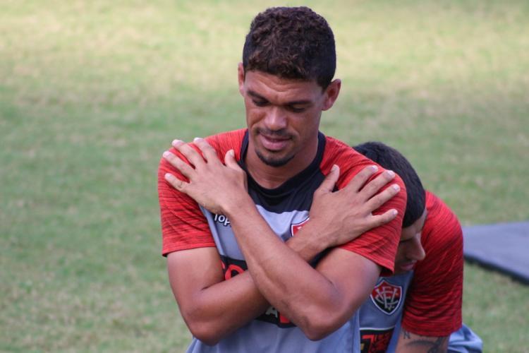 Os jogadores do Leão treinaram apenas no turno da tarde - Foto: Divulgação | EC Vitória