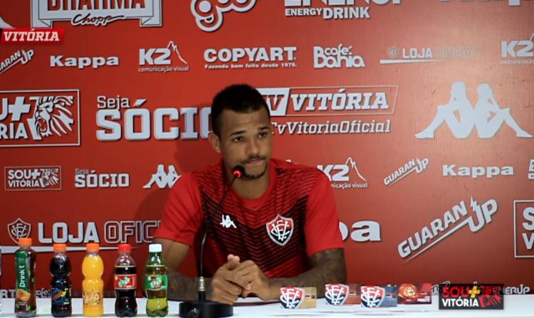 Zé Ivaldo ainda fez uma auto-análise do seu desempenho na partida de estreia - Foto: Reprodução | Youtube