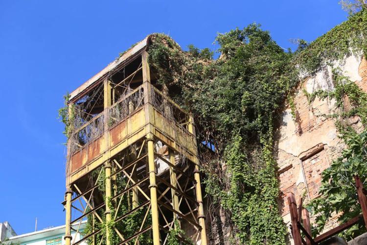 Equipamento histórico está desativado há 54 anos - Foto: Luciano Carcará   Ag. A TARDE