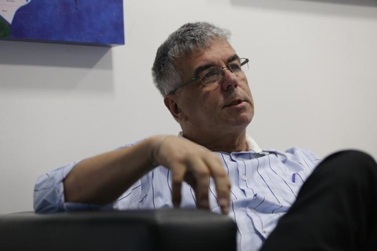 O engenheiro civil Luís Edmundo Campos fala sobre o risco de rompimento de barragens na Bahia - Foto: Uendel Galter | Ag. A TARDE