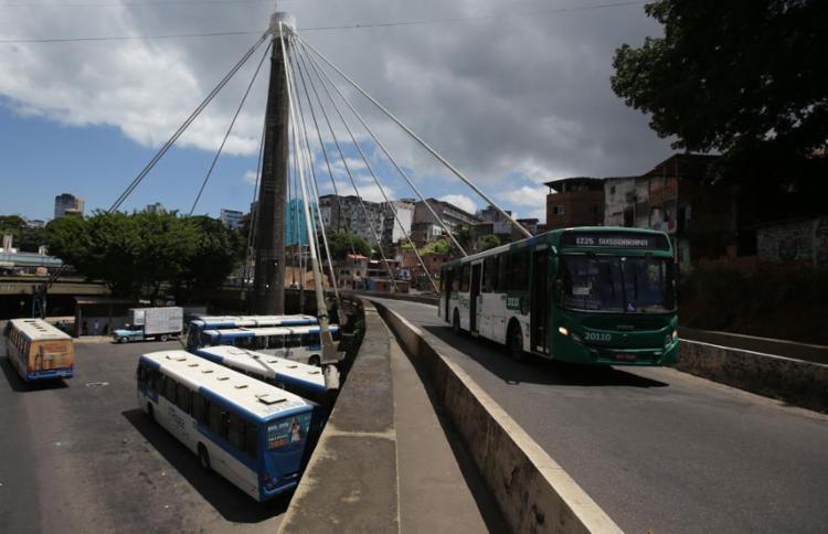 As linhas que operam no centro da cidade serão reforçadas - Foto: Raul Spinassé