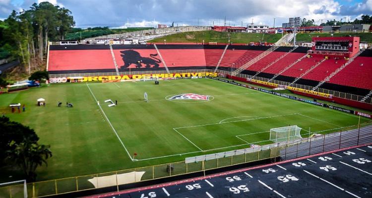 Imagem do coordenador técnico do Vitória, Carlos Anunciação foi usada para aplicar golpes - Foto: Maurícia da Matta | EC Vitória