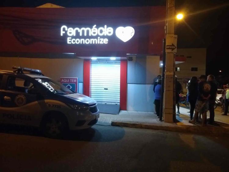 Crime aconteceu na Farmácia Economize