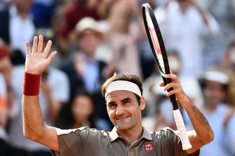 Federer é o atual número 3 do mundo e campeão do Grand Slam francês em 2009 - Foto: Philippe Lopez l AFP
