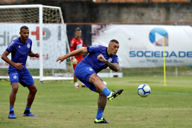 Sem Gilberto, Fernandão será o titular no ataque - Foto: Felipe Oliveira l EC Bahia