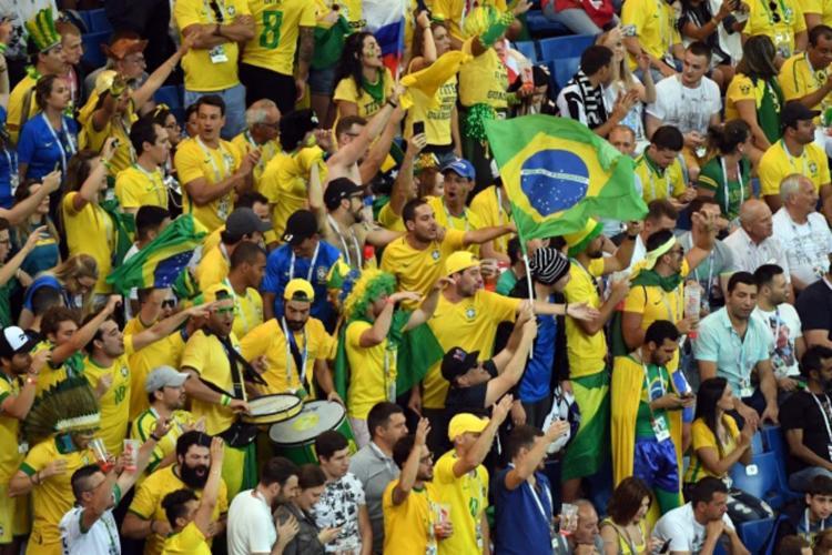 A expectativa é de a Fonte Nova receber 45 mil torcedores - Foto: AFP