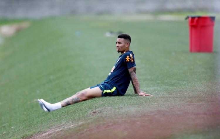 Gabriel Jesus continua sem anotar gols nesta Copa América - Foto: Adilton Venegeroles | Ag. A Tarde