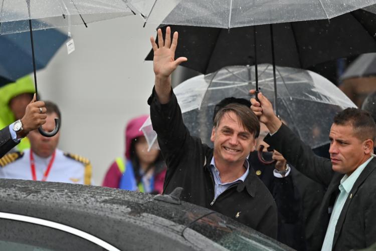 A pouca flexibilidade na agenda do brasileiro não impediu a inclusão às pressas dos compromissos - Foto: Charly Triballeau | AFP
