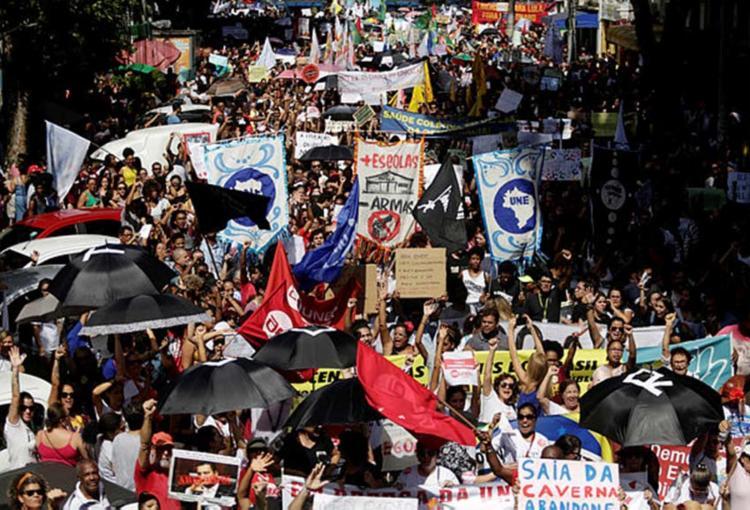 Em Salvador, o protesto contra a reforma da Previdência está marcado para sair do Campo Grande, às 15h - Foto: Raul Spinassé | Ag. A TARDE