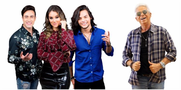 A banda Limão com Mel e o cantor Lordão estão na programação da festa - Foto: Divulgação