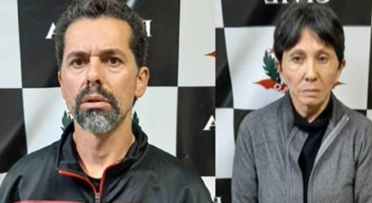 Écio Pilli Júnior, 47, e Marina Okido, 65 - Foto: Divulgação | PC